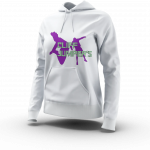 CLIFF JUMPERS HOODIE WHITE